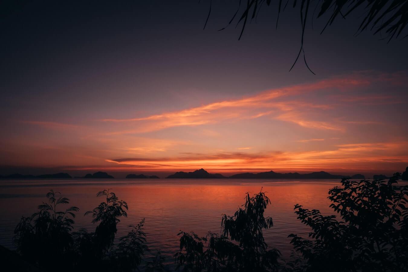 Μαγευτικό Ηλιοβασίλεμα στην Σκόπελο